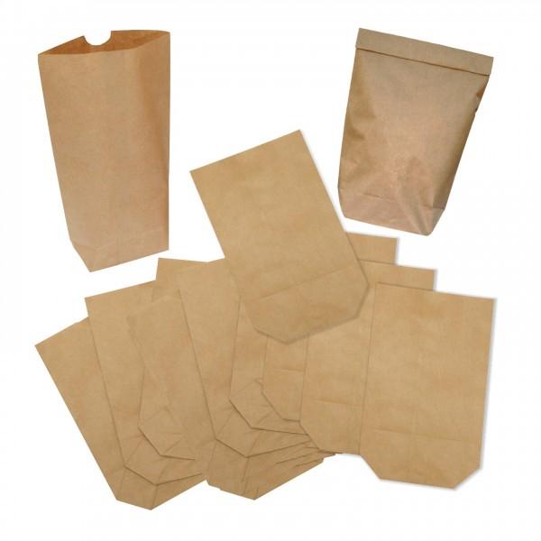 Braune Papiertüten Adventskalender 24 25 Stueck Kraftpapier