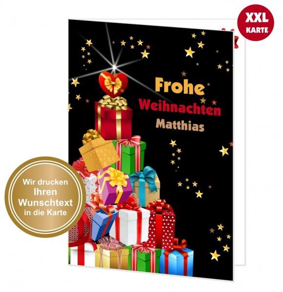 Xxl Weihnachtskarte Geschenke Weihnachtsbaum